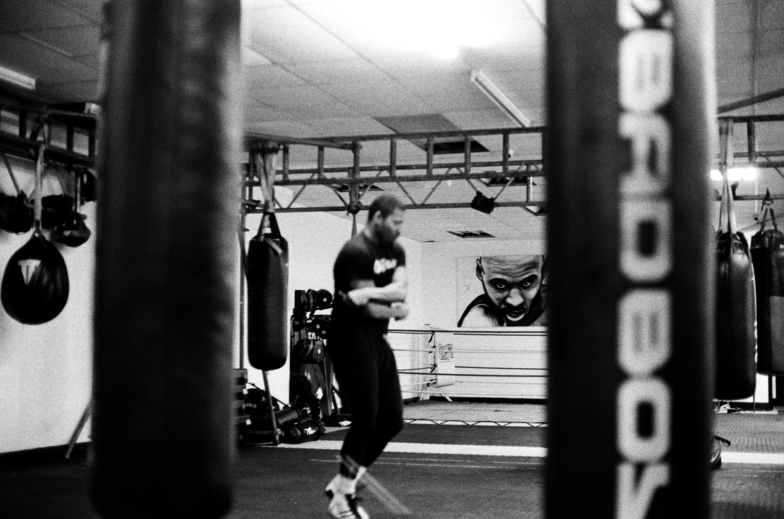 Ace Adam in training.