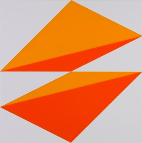 Brian Zink, Composition in 2119 Orange, 2662 Red and 3015 White, 2015