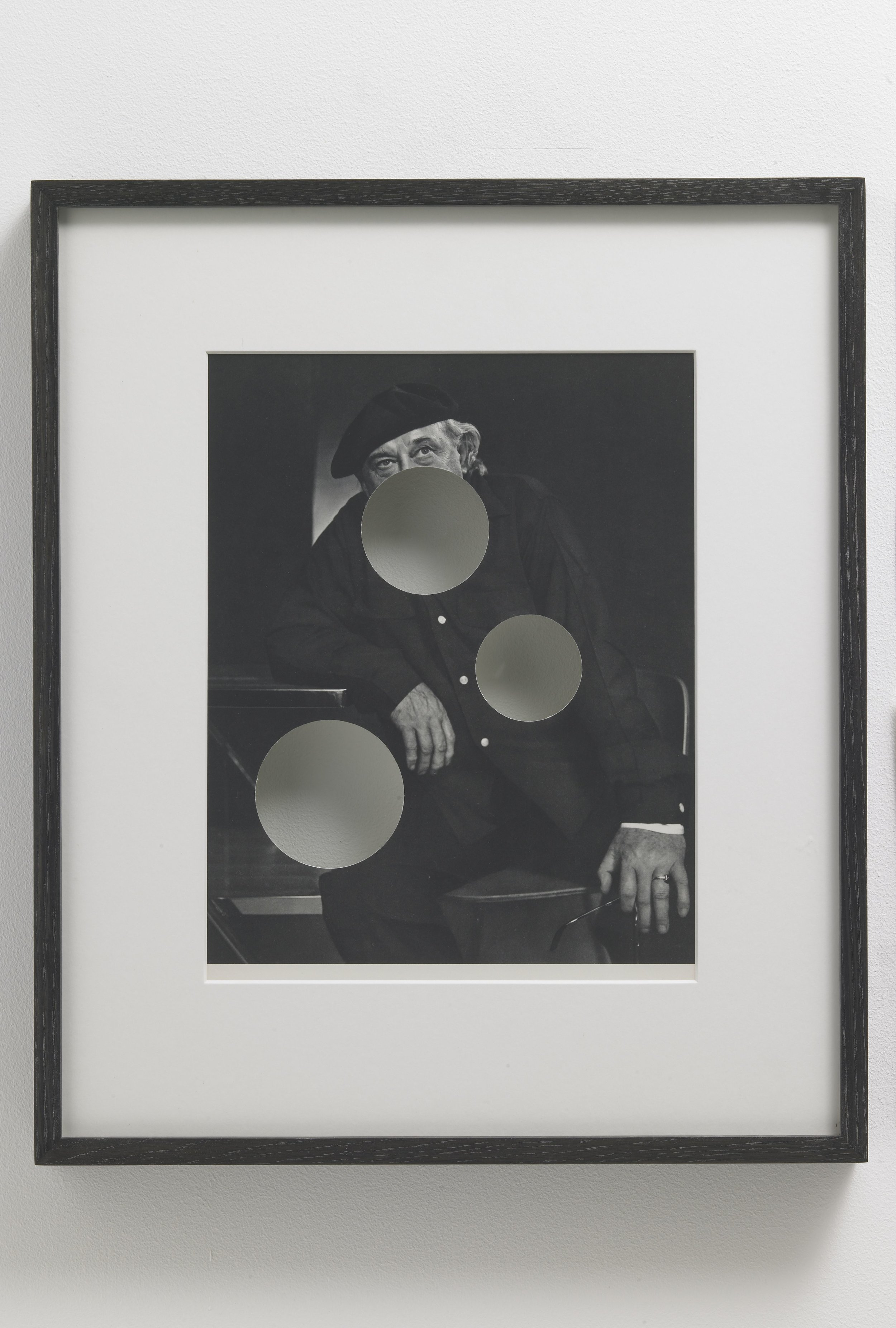Cerith Wyn Evans, Faces of Our Time Penetrated, after Yousuf Karsh (Jacques Lipchitz), 2007