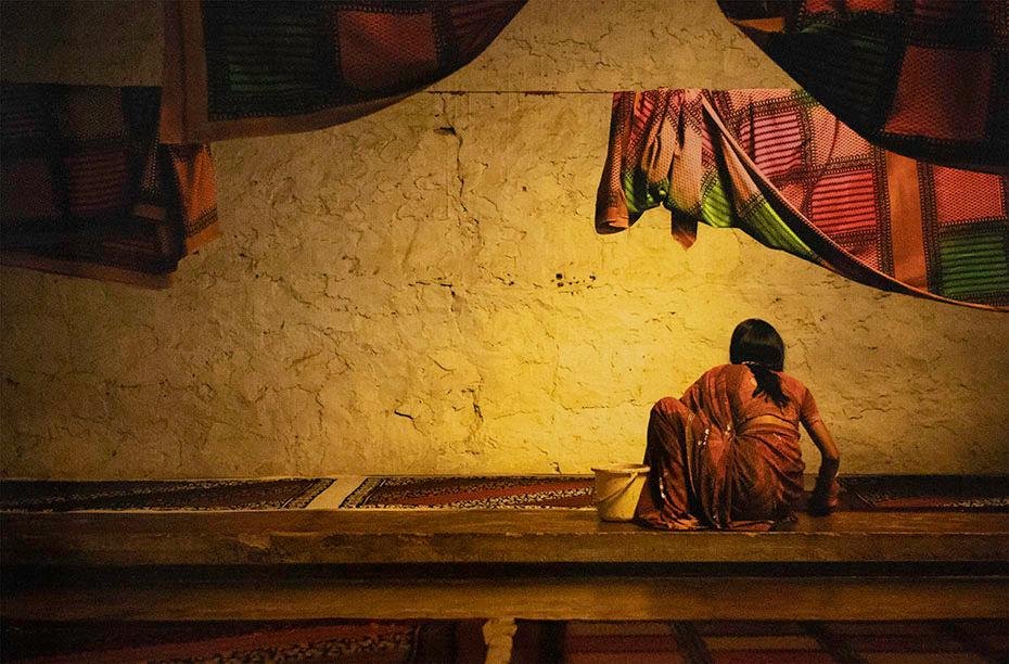 Susan Onysko. Working in India No. 2, 2011