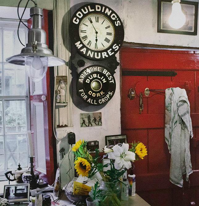 Alen MacWeeney, Gouldings Clock, Village House, Co. Kerry, 2015