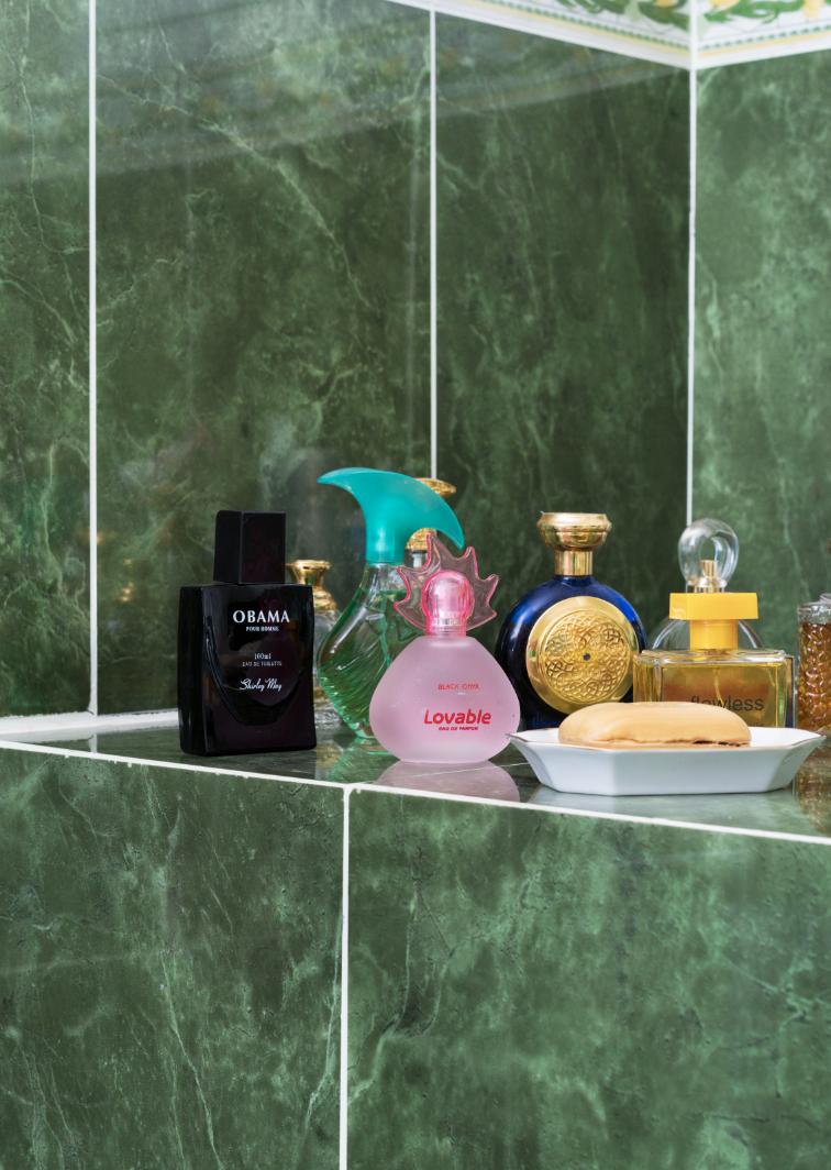 Farah Al Qasimi, Perfume (Obama, Lovable, Flawless), 2018
