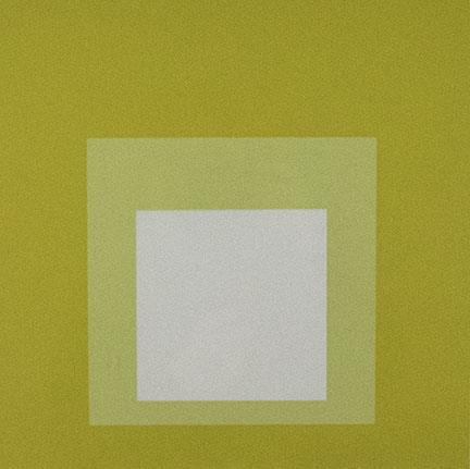 Josef Albers, Opalescent, 1965