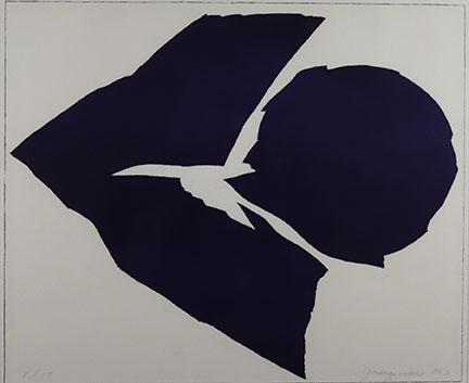 Youngerman Jack , Indigo White, 1963