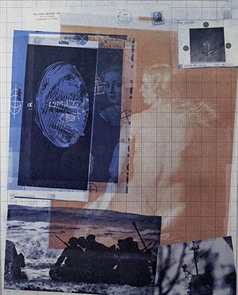 Robert Rauschenberg, Paris Review Poster