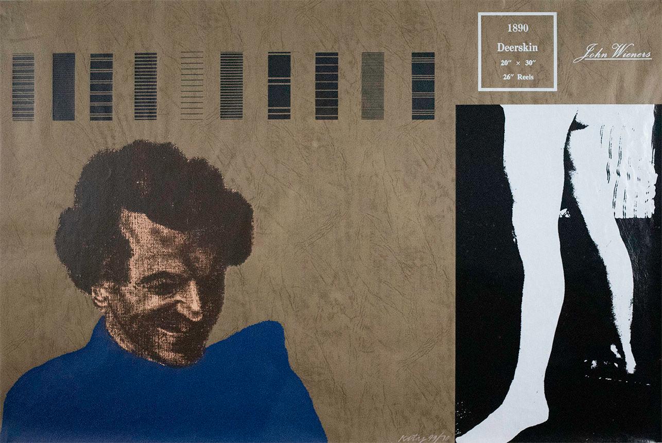 R. B. Kitaj, John Wieners, 1969