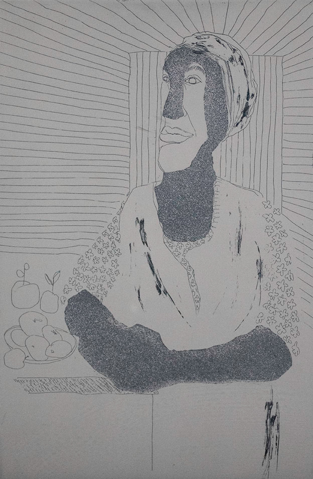 Benny Andrews, Woman, 1977