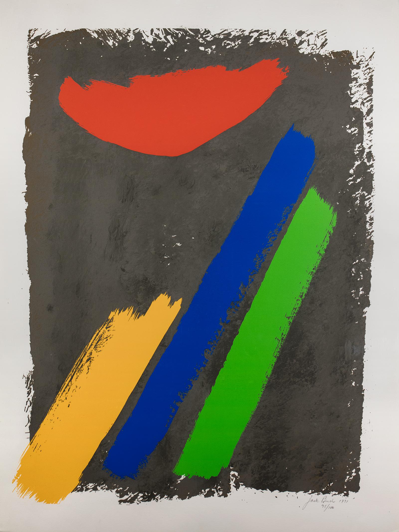 Jack Bush, Low Sun, 1971