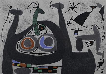 Joan Miró, Untitled (Print #1)