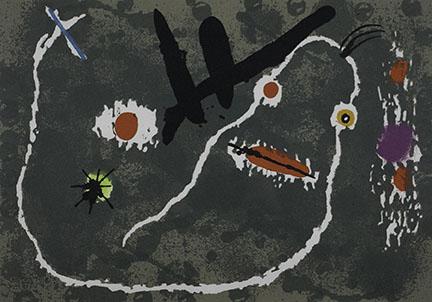 Joan Miró, Untitled (Print #7)