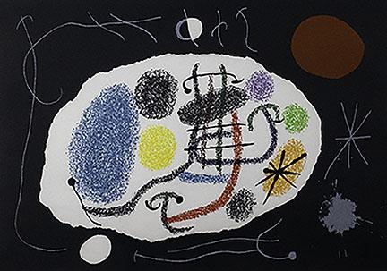 Joan Miró, Untitled (Print #9)