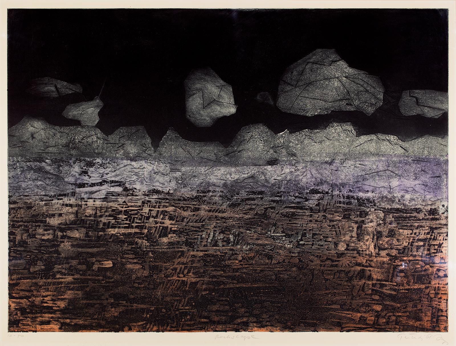 Gabor Peterdi, Rockscape