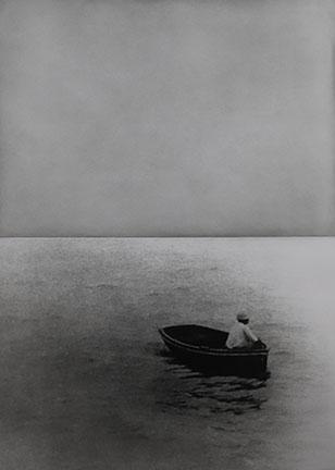 John Baldessari, Boat (with Figure Standing), 1986