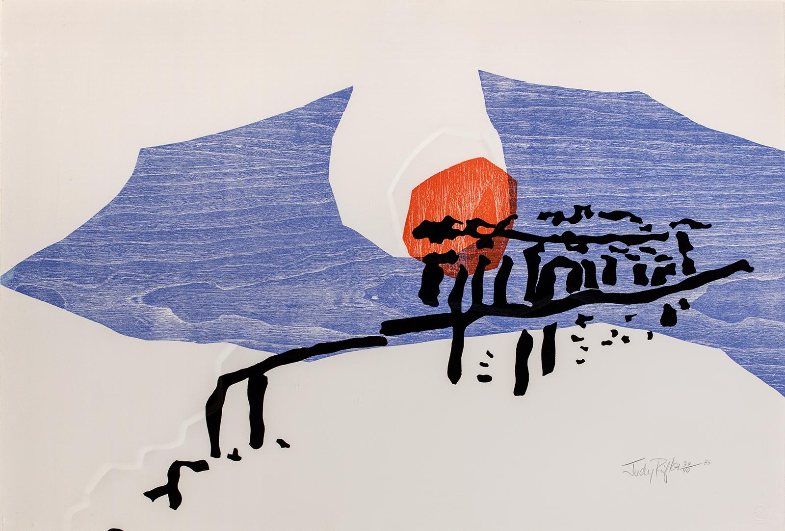 Judy Rifka, On Acropolis, 1985
