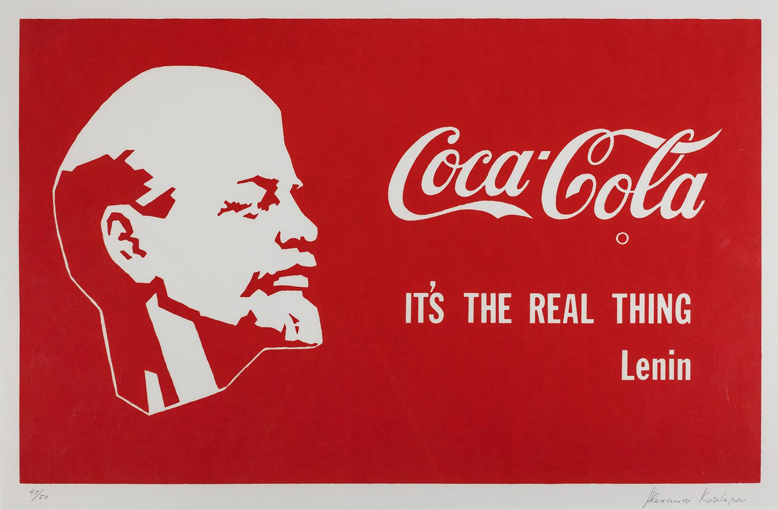 Alexander Kosolapov, Lenin Coca-Cola, 1982