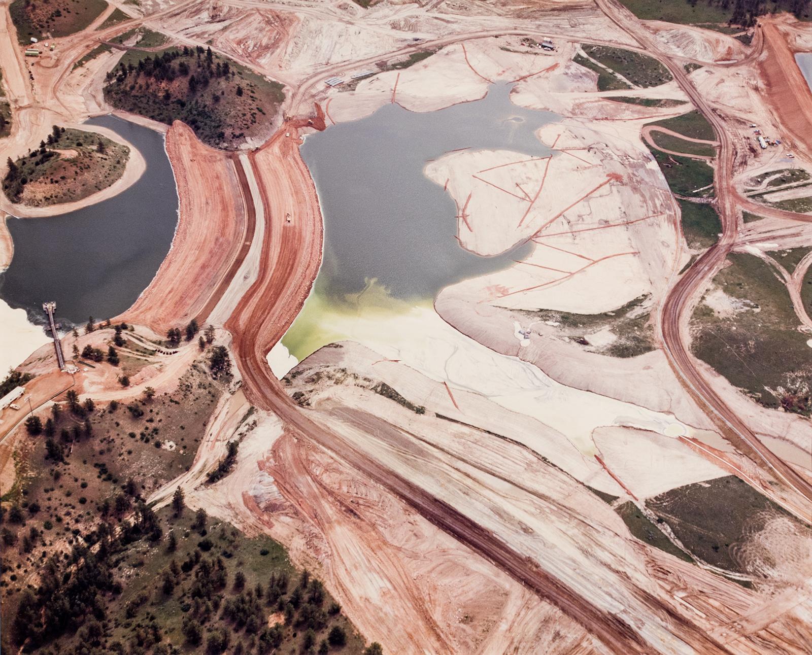 David Taverner Hanson, Excavation, deforestation, and waste pond