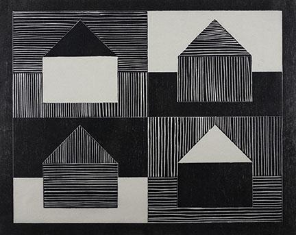Jennifer Bartlett, Black, Gray, White, 1991