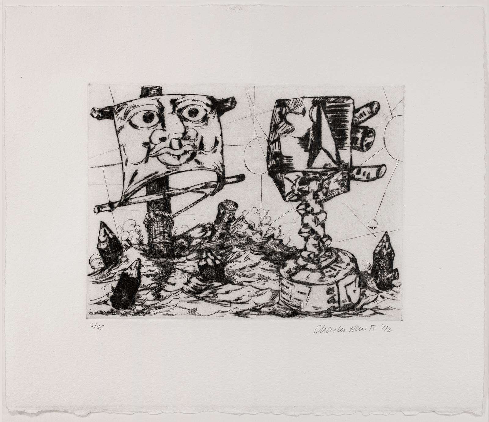 Charles Hewitt, Illuminations IX, 1992