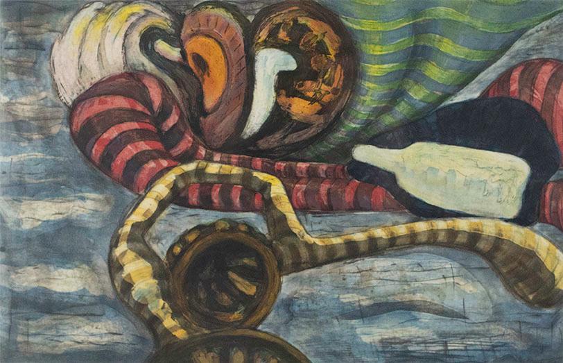 Bill Jensen, Lie-Light, 1989-90