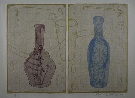 Robin Winters, Bottle Brigade II, 1992