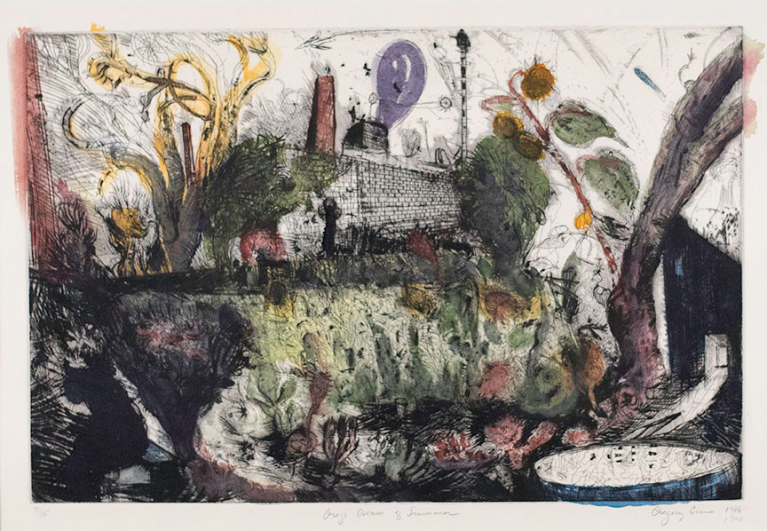 Gregory Crane, Greg's Dream of Summer, 1986-1990