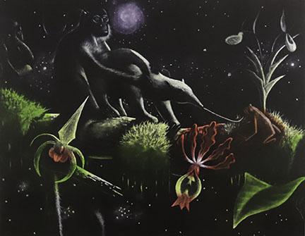 Alexis Rockman, Biosphere: Tropical Tree Branch, 1993
