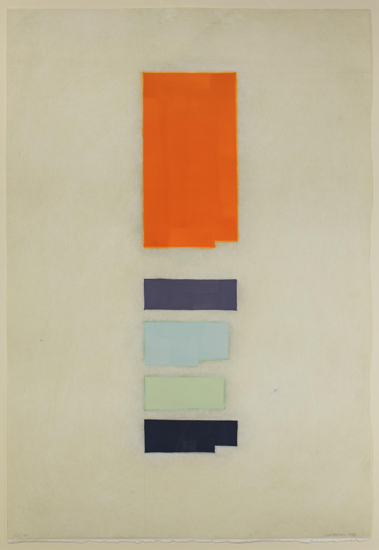 Suzanne Caporael, Chrome Orange: Cr, O, H, Pb, 1997