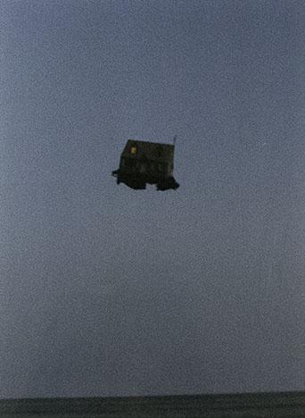 Peter Garfield, Mobile Home (Night), 1995