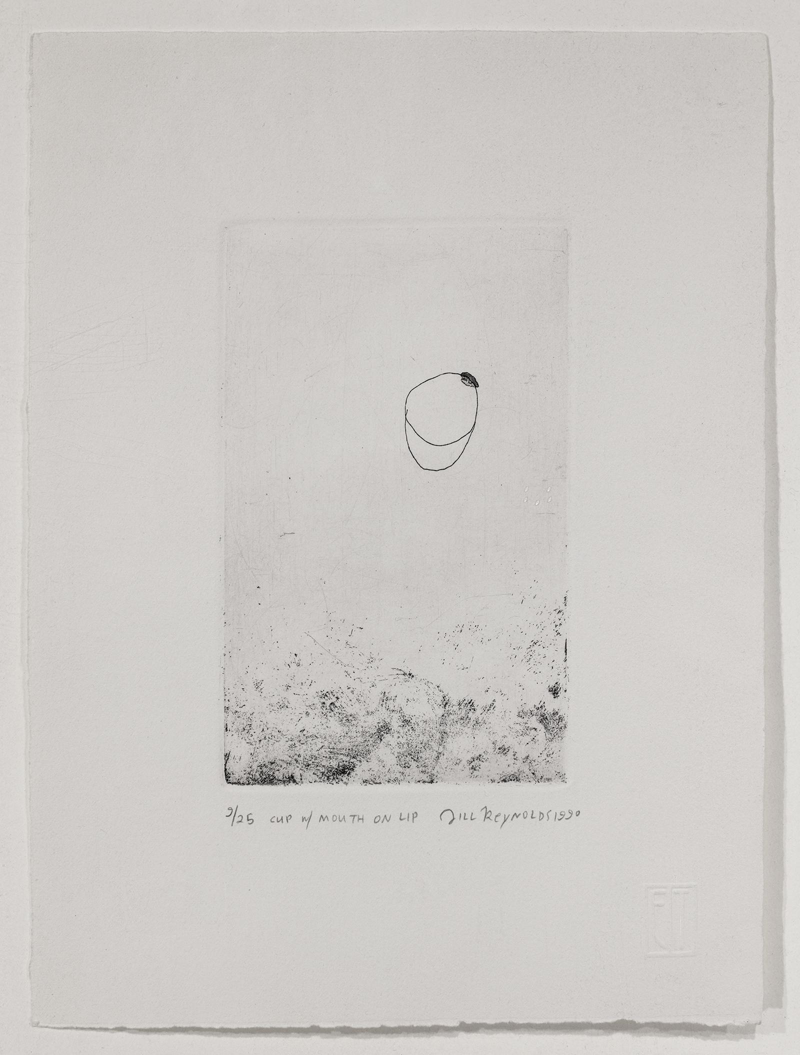 Jill Reynolds, Cup W/ Mouth On Lip, 1990
