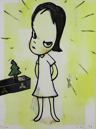 Yoshitomo Nara, Litte Tannenbaum, 1999
