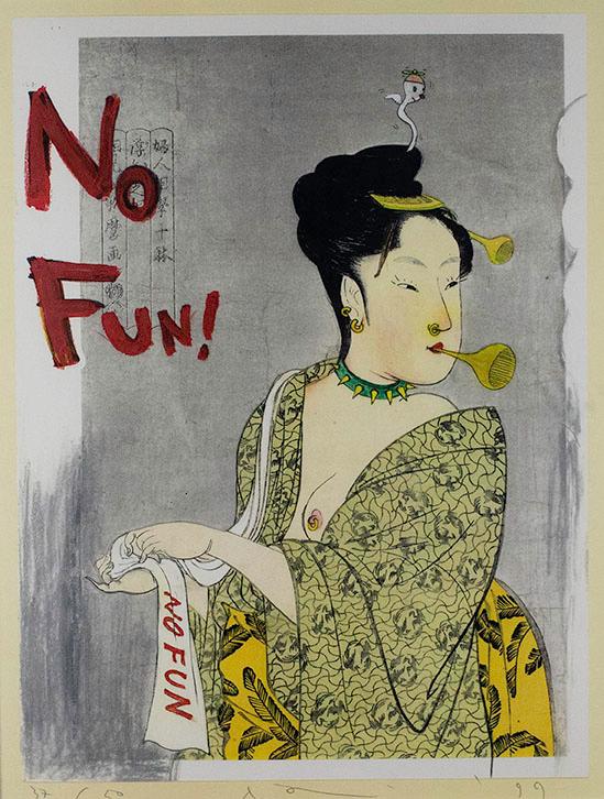 Yoshitomo Nara, No Fun!, 1999
