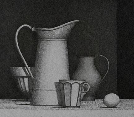 William Bailey, Still Life, 1994
