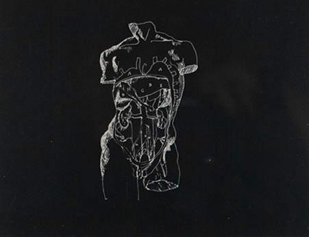 Orshi Drozdik, Untitled (#1), 1985