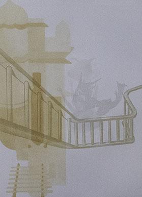 Shahzia Sikander, Fright, 2001