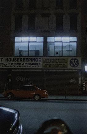 Jennifer Bolande, City at Night #4, 1997