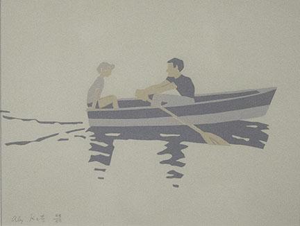 Alex Katz, Rowboat, 1966
