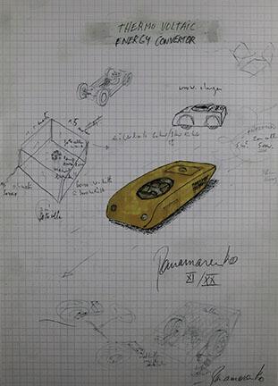 Panamarenko , Thermo-Voltaic - Energy Convertor, 2001