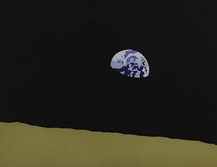 Kota Ezawa, Earth from Moon, 2006