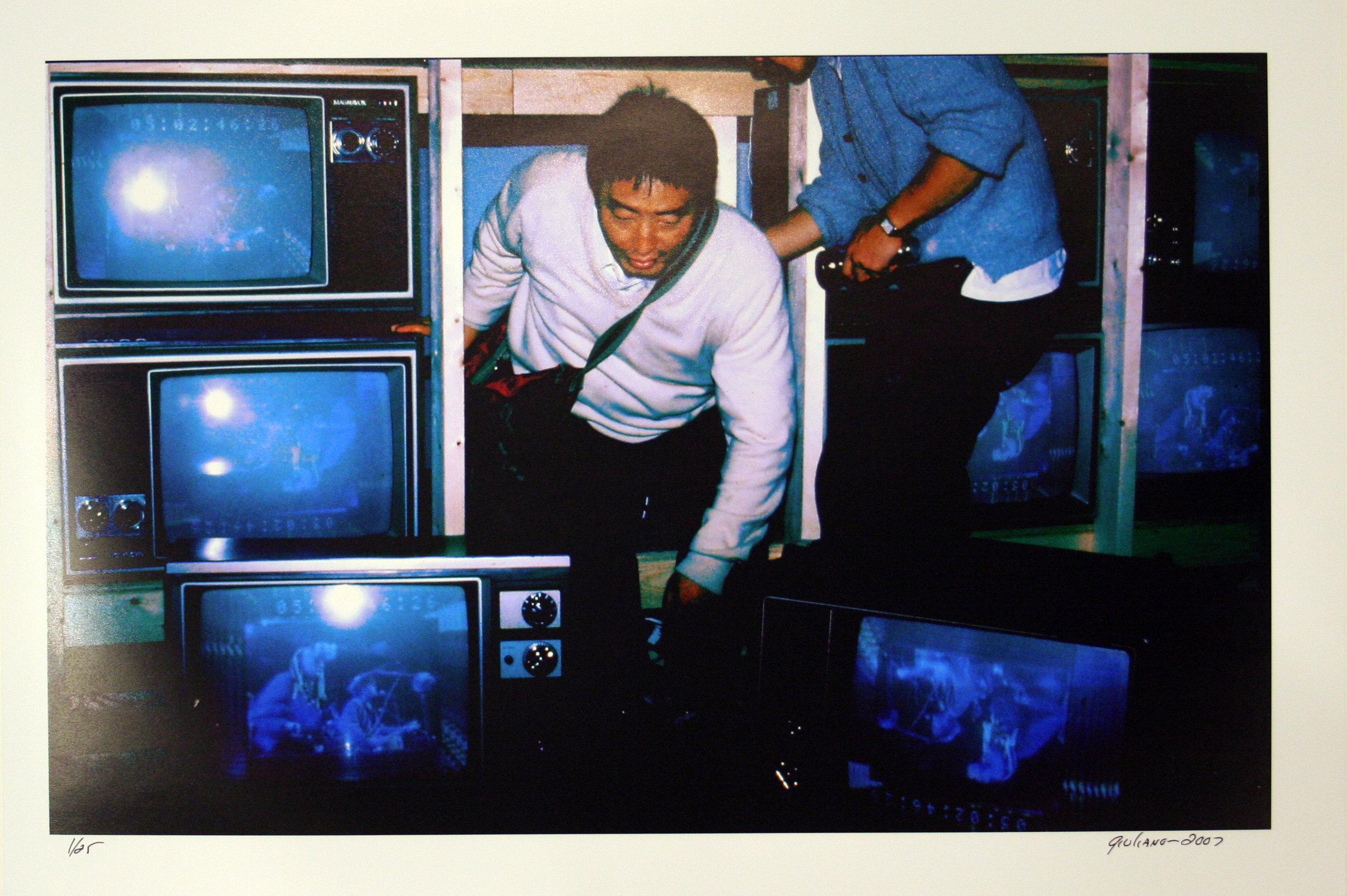 Charles Giuliano, Nam June Paik, printed 2007