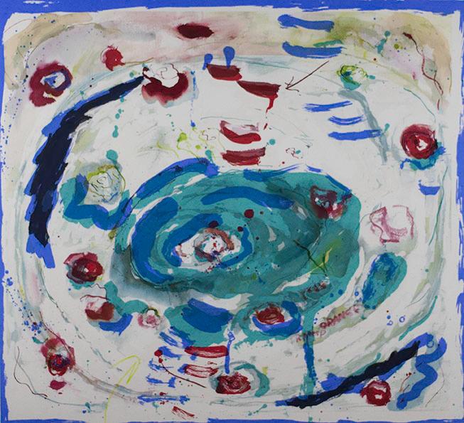 Joan Snyder, Oasis, 2006
