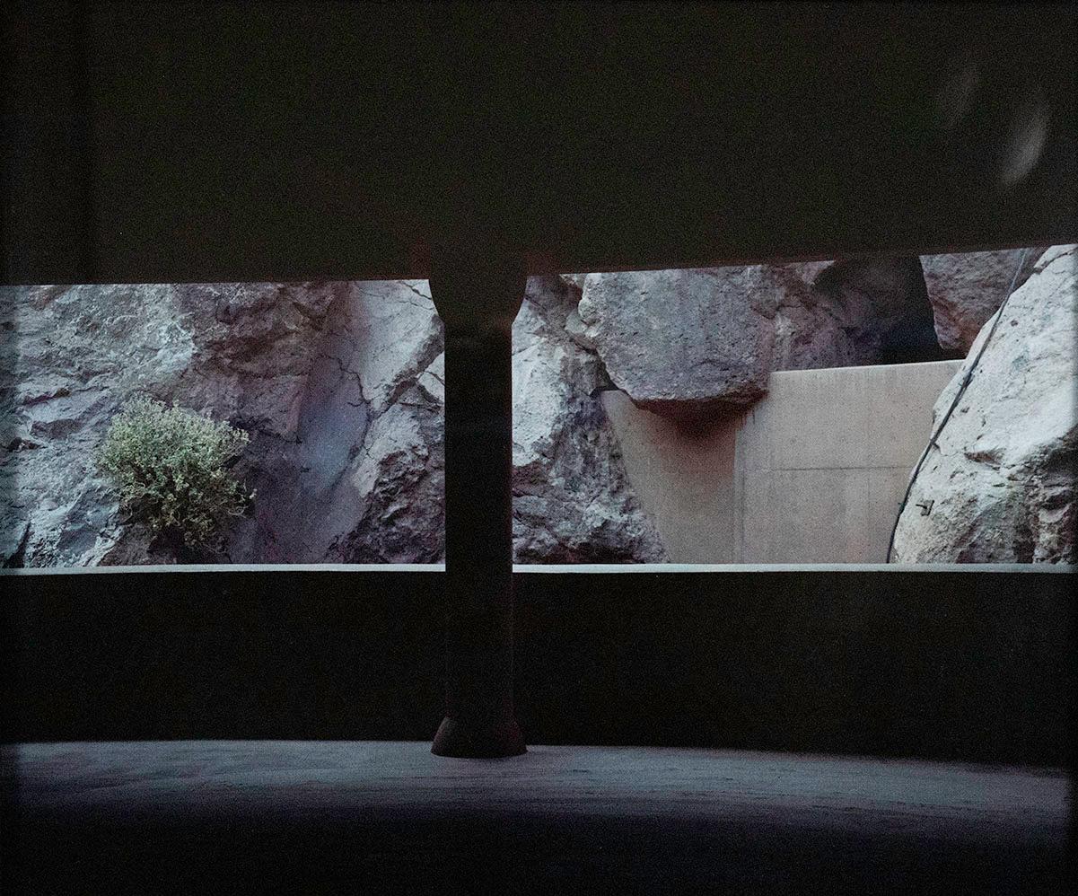 Oscar Palacio, Hoover Dam Parking Lot, 1970