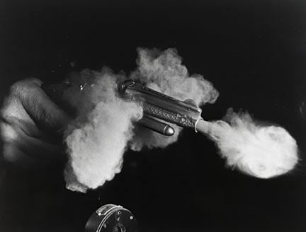 Harold Eugene Edgerton, Antique Gun Firing, 1936