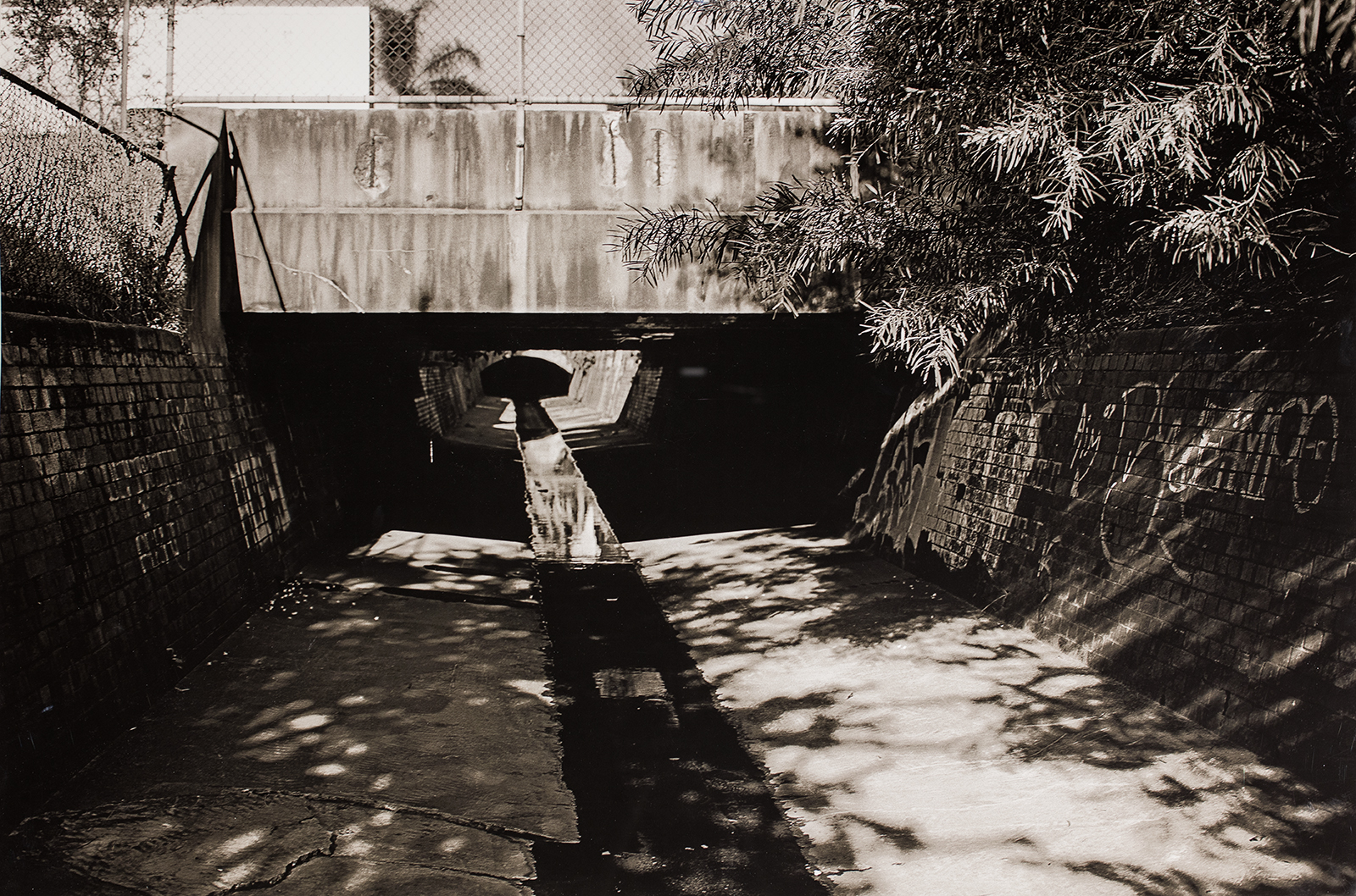 Simryn Gill, Untitled (bridge over stormwater drain, Sydney), 20