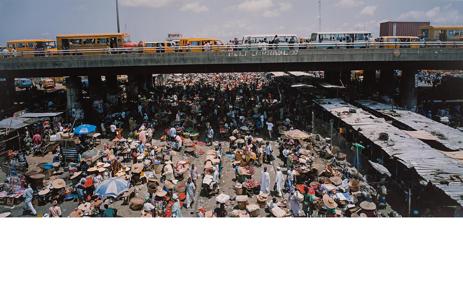 Armin Linke, Oshodi Market, Lagos, Nigeria, 2008