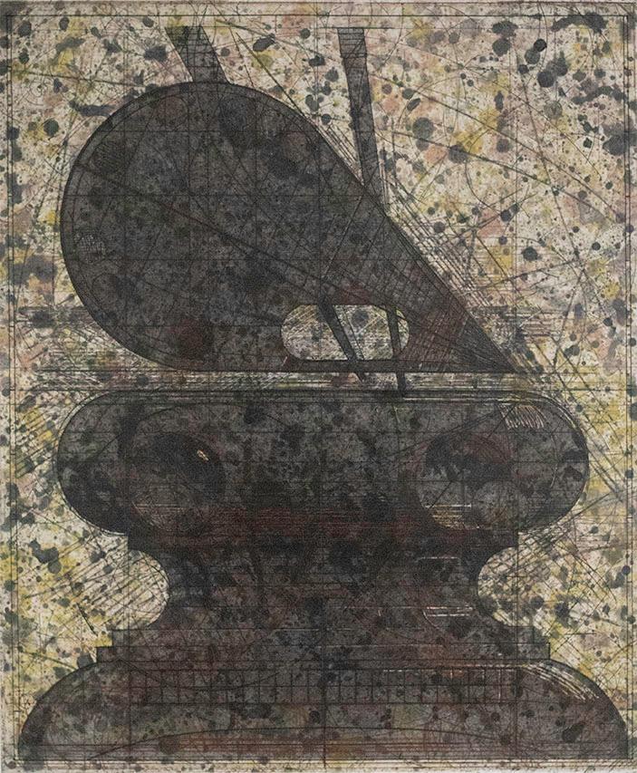 Robert Cumming, Palette/Pedestal I, 1991