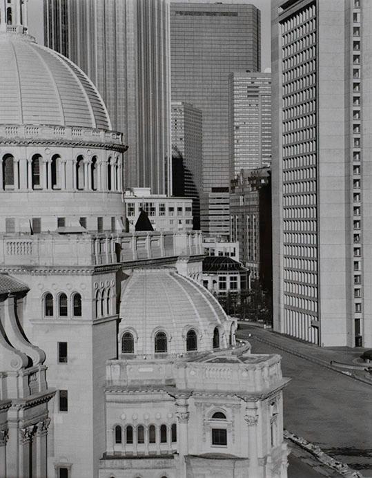 Nicholas Nixon, View of the Christian Science Center, Boston, 20