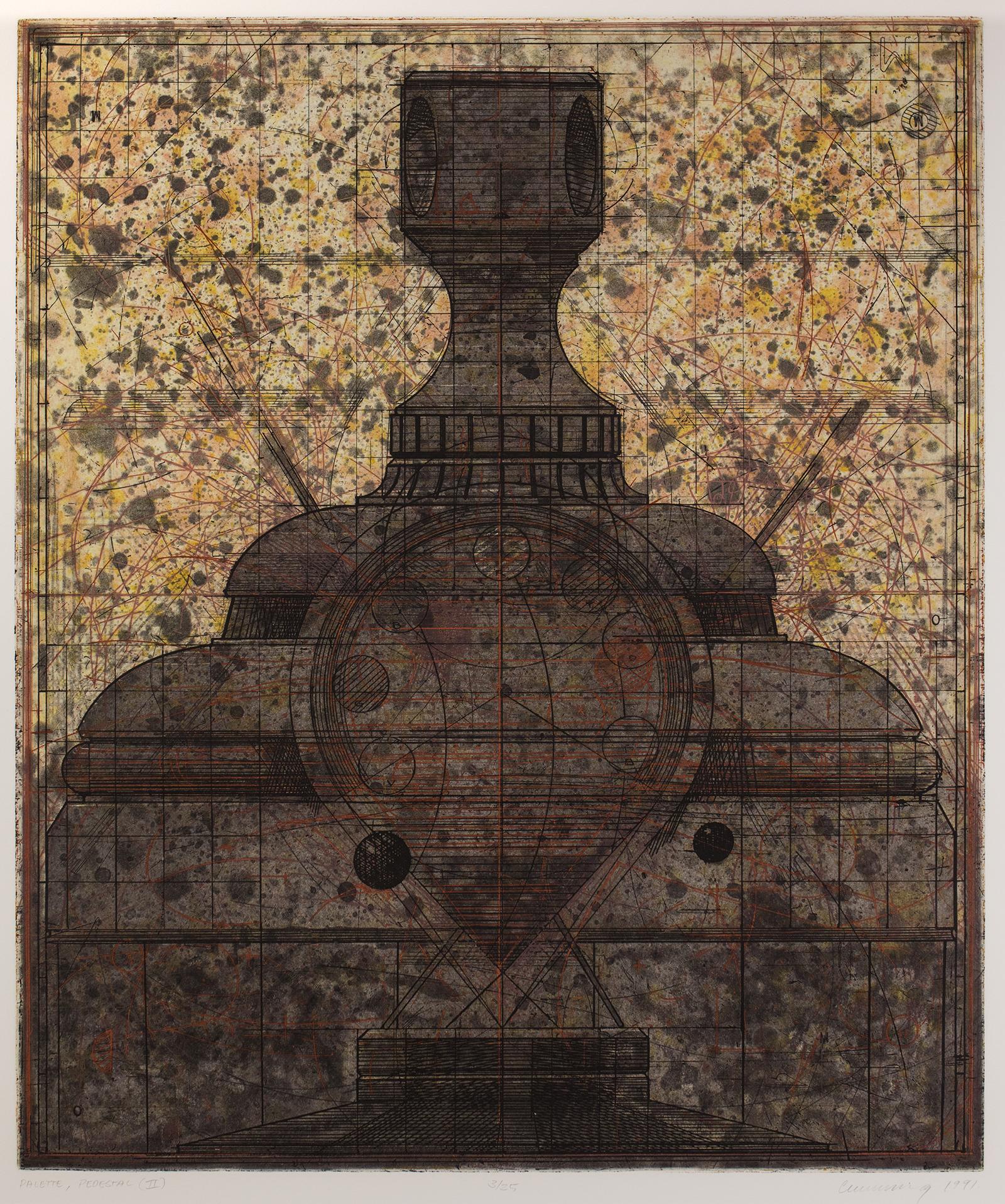 Robert Cumming, Palette/Pedestal II, 1991