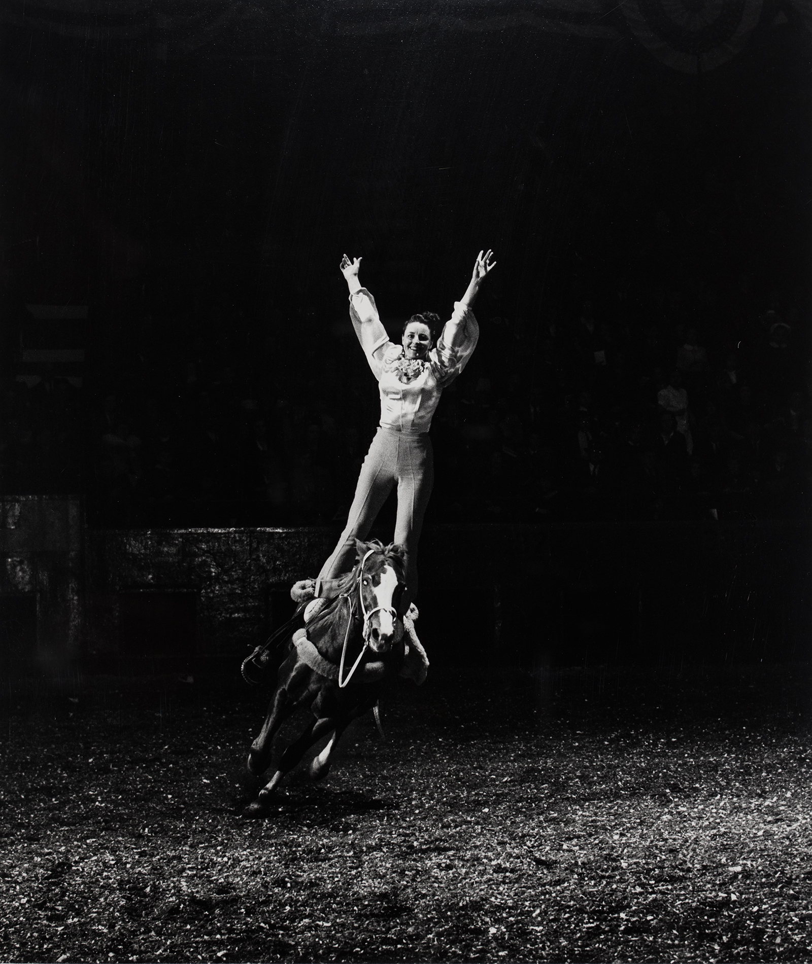 Harold Eugene Edgerton, Rodeo Rider, 1940