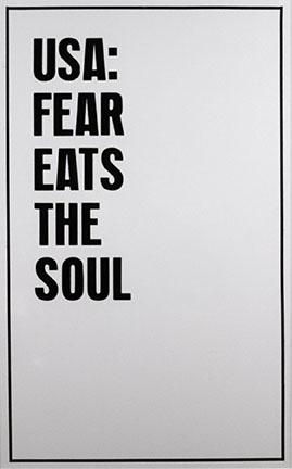 Rirkrit Tiravanija, USA: Fear Eats the Soul, 2006