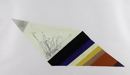 Matt Rich, Woodcut Parallelogram, 2011